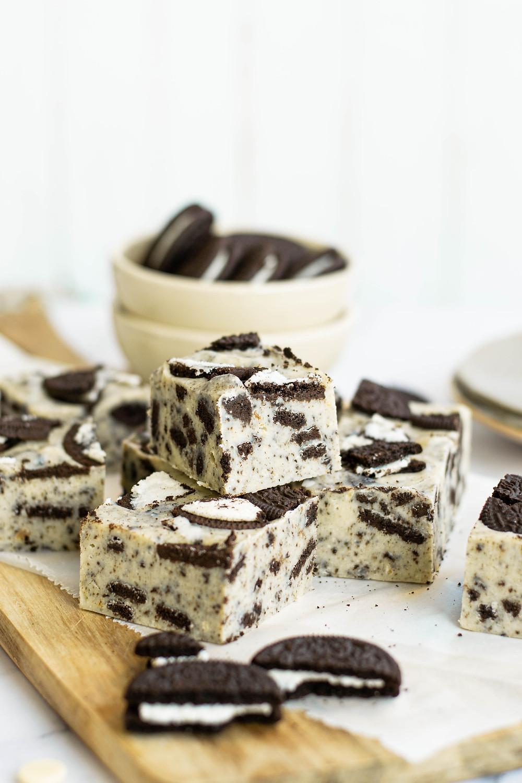 Recept om Oreo fudge te maken