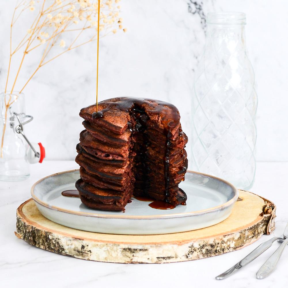 Recept voor pancakes chocolade
