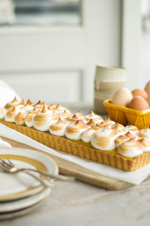 Recept lemoncurd meringue pie