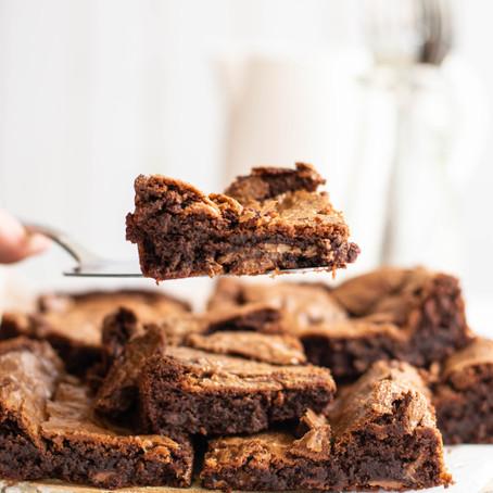 Brownies met rum