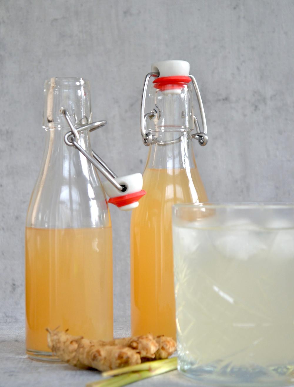 Zelf citroengras siroop maken