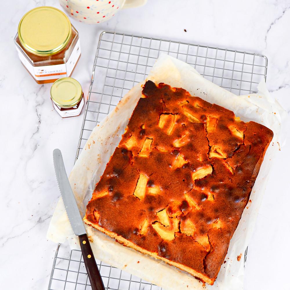 Recept om een cake met honing te maken