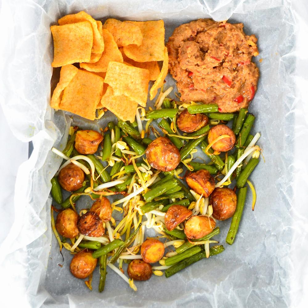 Gado gado recept voor uit de oven vegetarisch