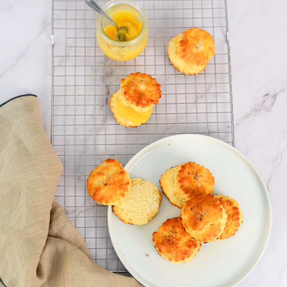 Recept om scones te maken