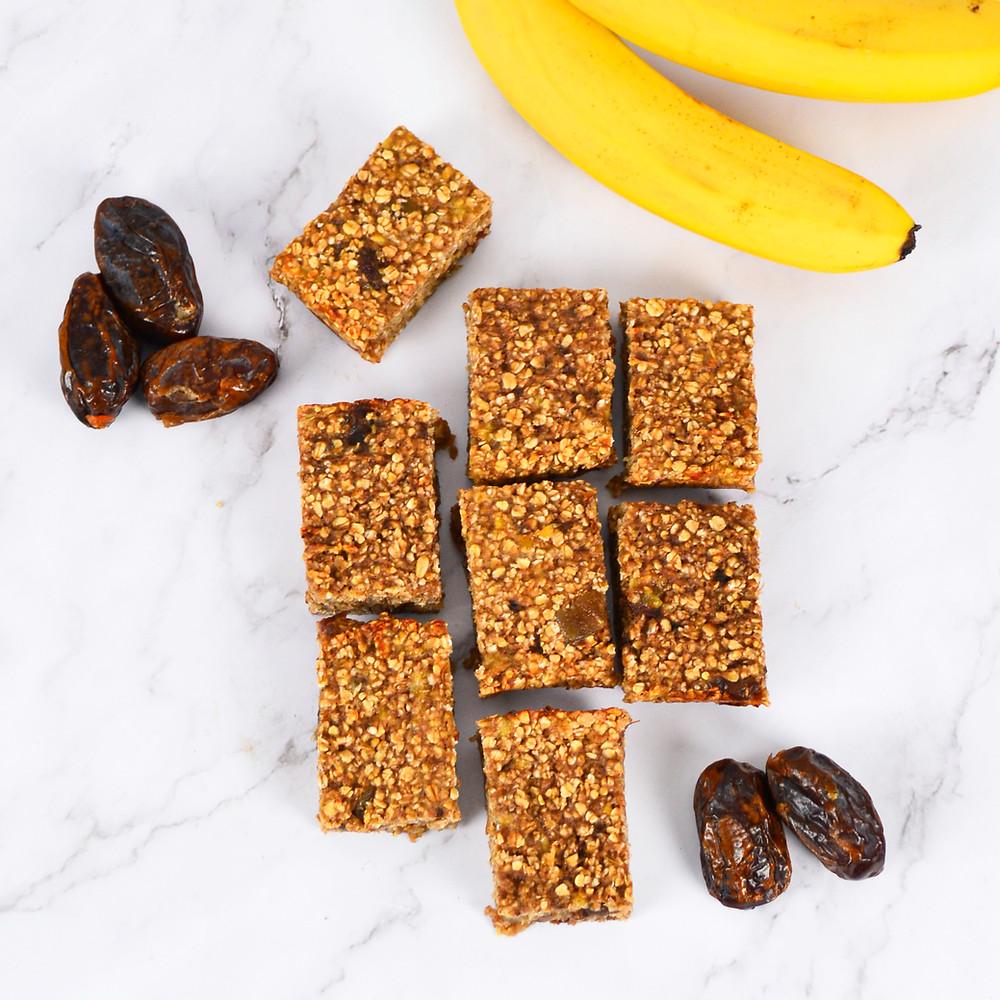 Recept voor healthy bananenbars