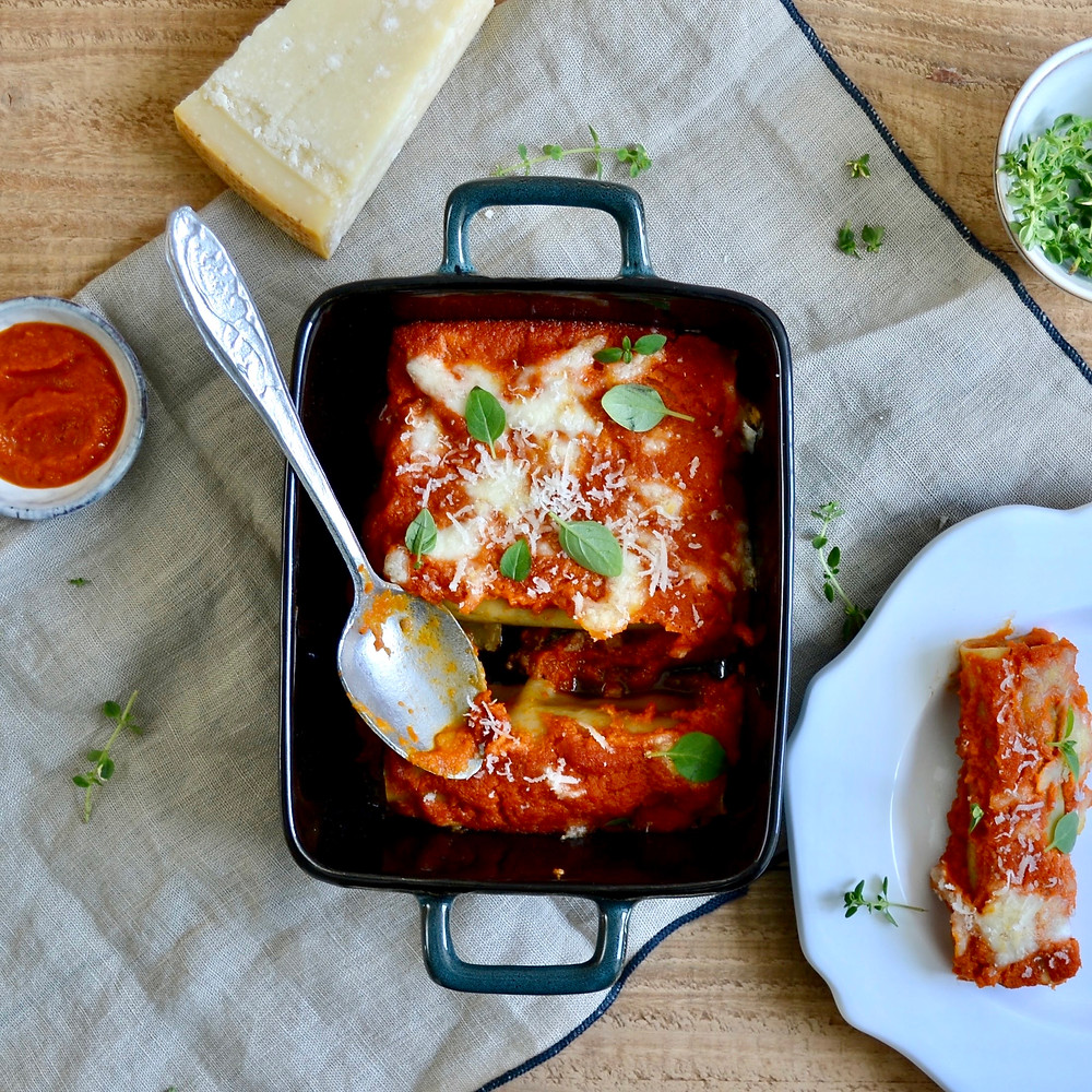 Italiaanse cannelloni