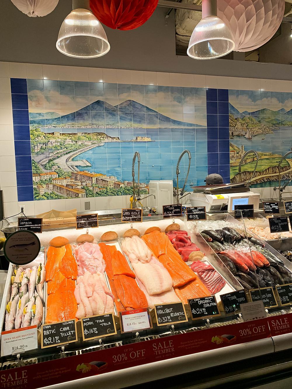 Verse vis kopen New York