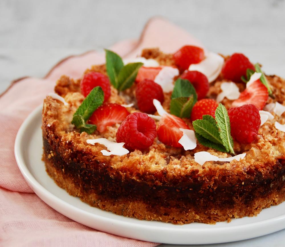 Recept voor een moederdagtaart met rood fruit