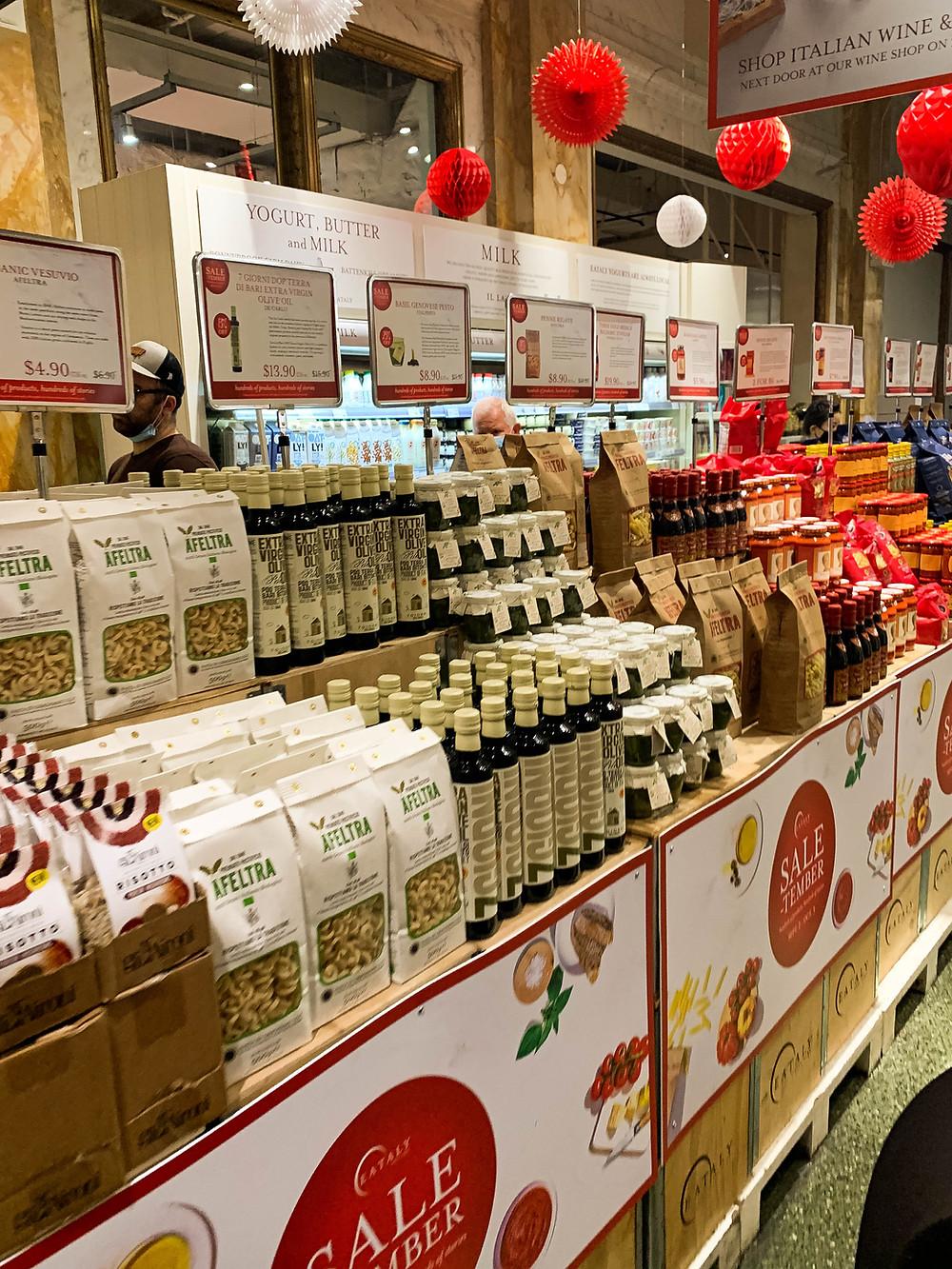 Italiaanse producten kopen New York