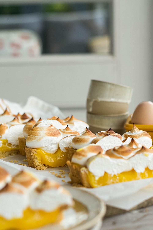 Het recept voor een klassieke citroen meringue taart