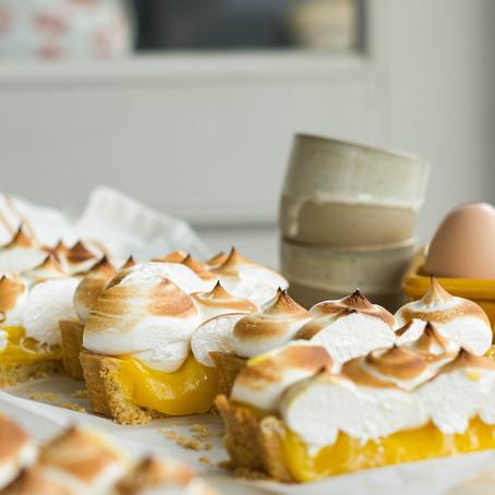 Klassieke citroen meringue taart