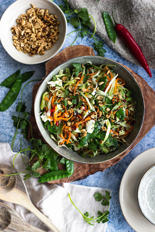 Recept voor een Vietnamese salade