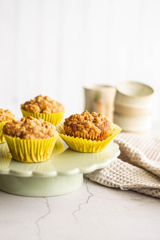 Recept voor gezonde muffins met banaan