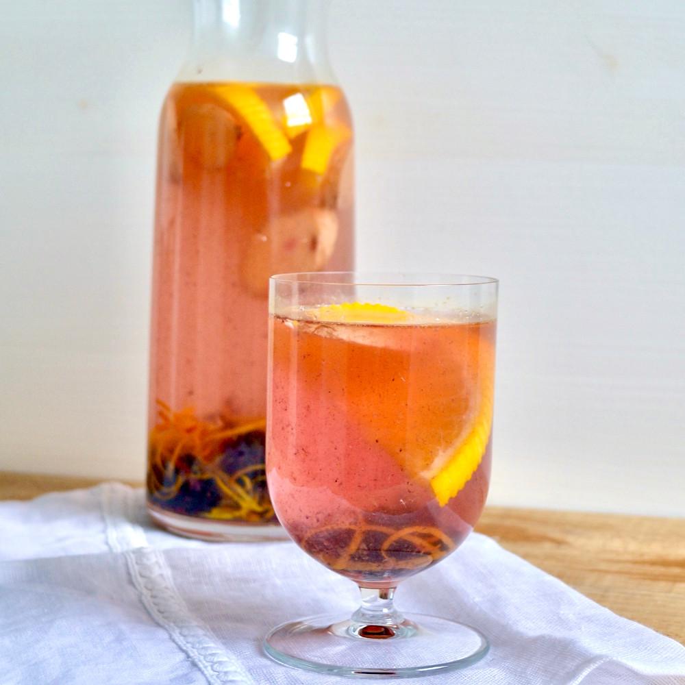 Vruchtenwater braam, sinaasappel & gember