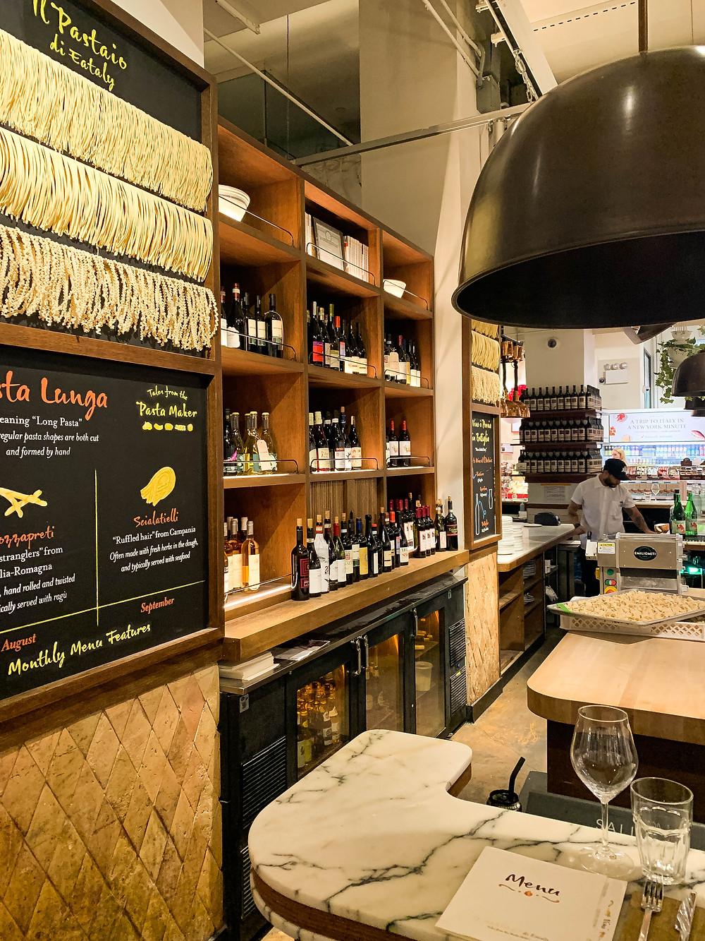 Italiaans restaurant NYC