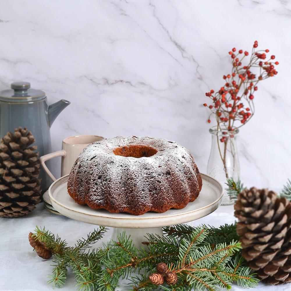 Recept voor een kersttulband
