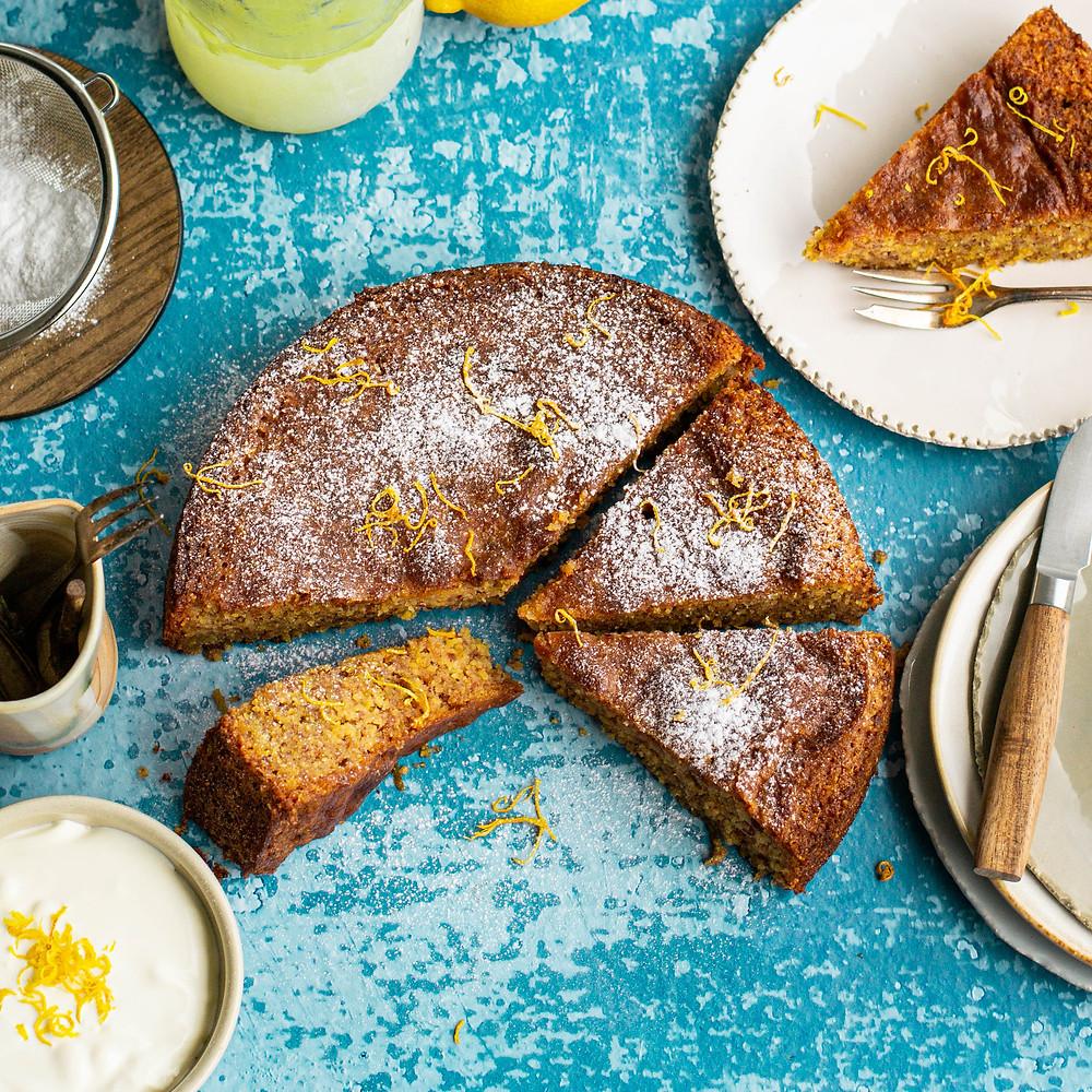 Recept voor een limoncello cake