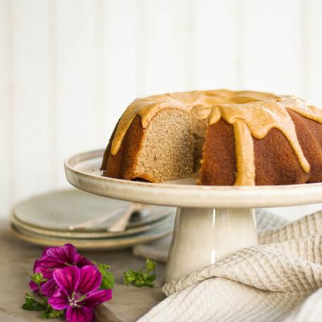 Chai cake met vanille en kaneel