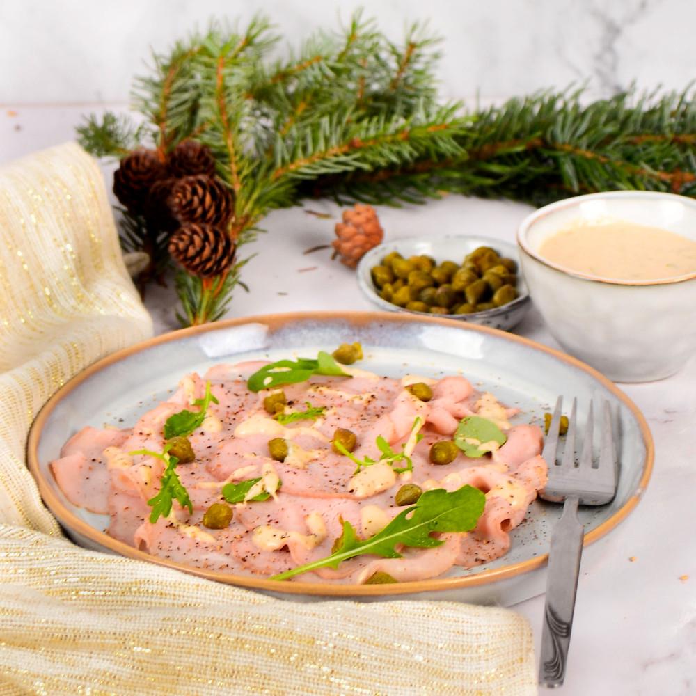 Voorgerecht voor kerst, Vitello tonnato