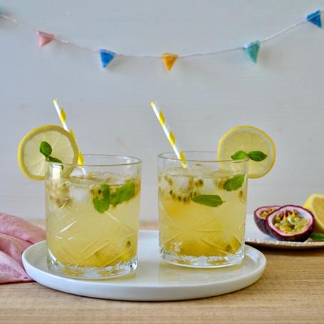 Passievrucht limonade