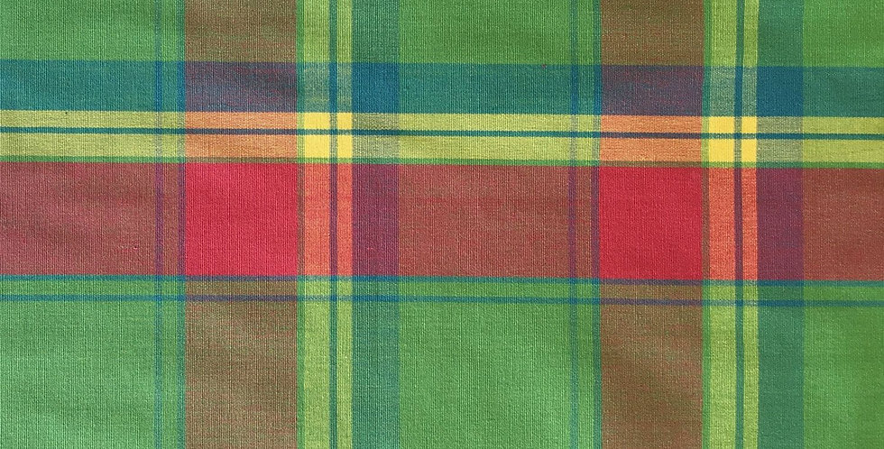Pink, Blue, Green Multicolor Plaid