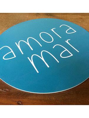expositor em pvc para _amora_mar #placa