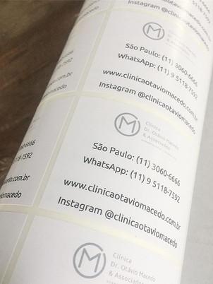 Etiquetas para _clinicaotaviomacedo #eti