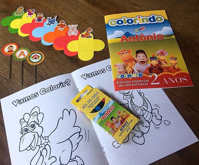 Kits personalizados para aniversários 💛