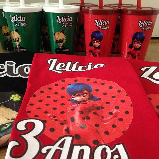 Lembrancinhas Ladybug. #aniversario #lad
