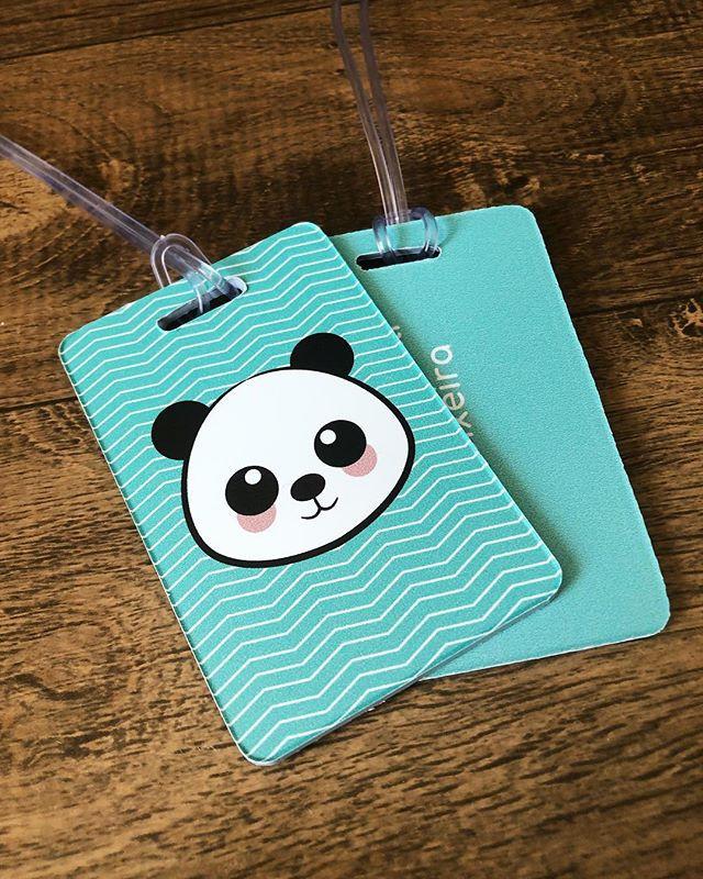 Tag de identificação para malas e mochil