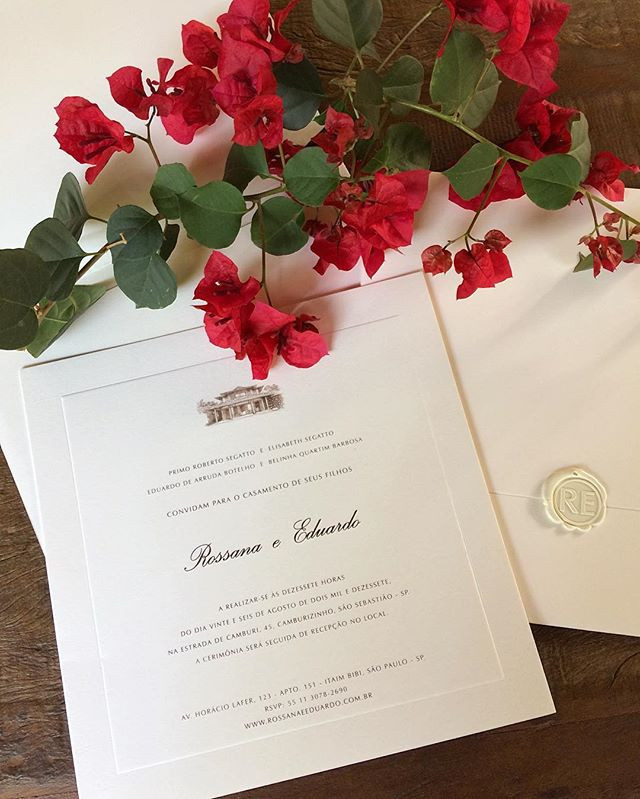 Convite casamento maravilhoso que aconte
