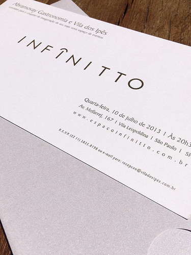 Convite corporativo _espaco_infinitto en