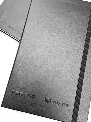 Cadernos personalizados em parceria com
