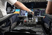 Do pilots talk to each other in the air?