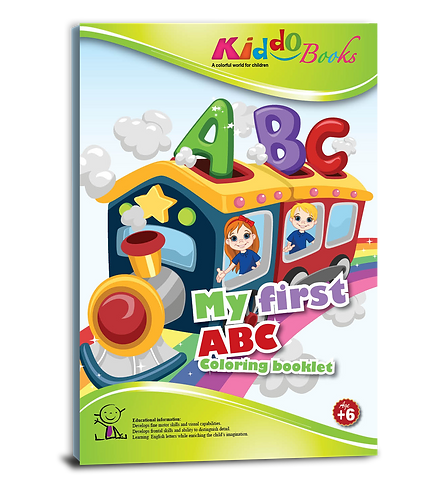 4019 My first ABC coloring booklet