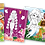 Thumbnail: 6006  Color, Cut, Stick – Fairy Kingdom - With glitter stickers