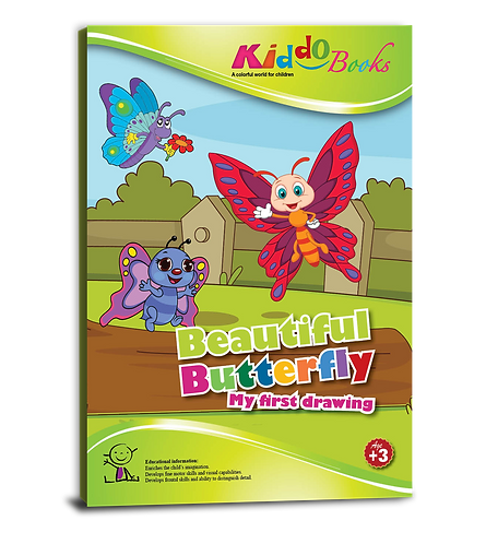 4024  Beautiful Butterflies-for Toddlers