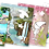 Thumbnail: 6009  Color, Cut, Stick – Enchanting Gardens - With glitter stickers