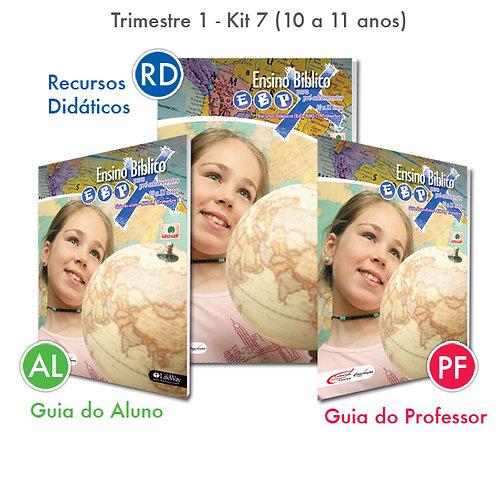 KIT 07 Guia do Professor e Recursos Didáticos + Guia do Aluno (10 a 11 anos)