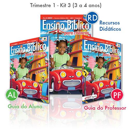 KIT 03 Guia do Professor e Recursos Didáticos + Guia do Aluno (3 a 4 anos)