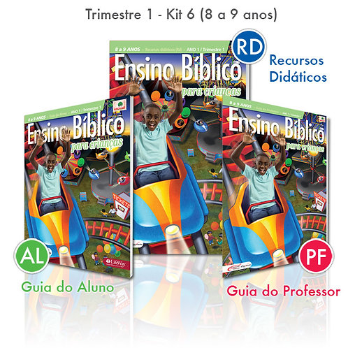 KIT 06 Guia do Professor e Recursos Didáticos + Guia do Aluno (8 a 9 anos)