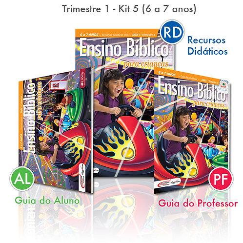 KIT 05 Guia do Professor e Recursos Didáticos + Guia do Aluno (6 á 7 anos)