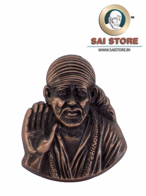 Sai Baba Ashirwad Idol Metal Stand