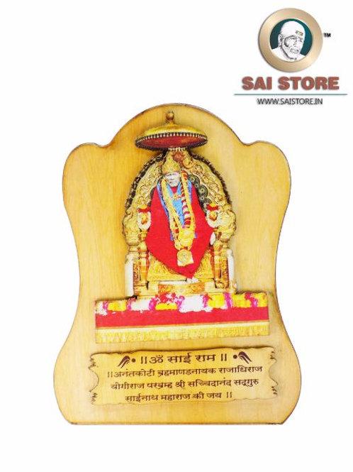 Sai Baba Wooden Stand - Samadhi