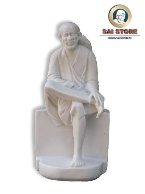 Sai Baba Plain Stone Statue No. 6