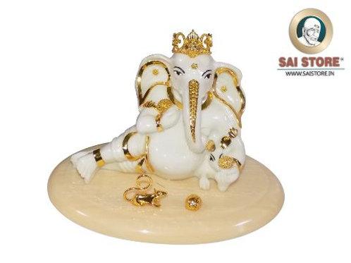 Big Ganesha Ornamented