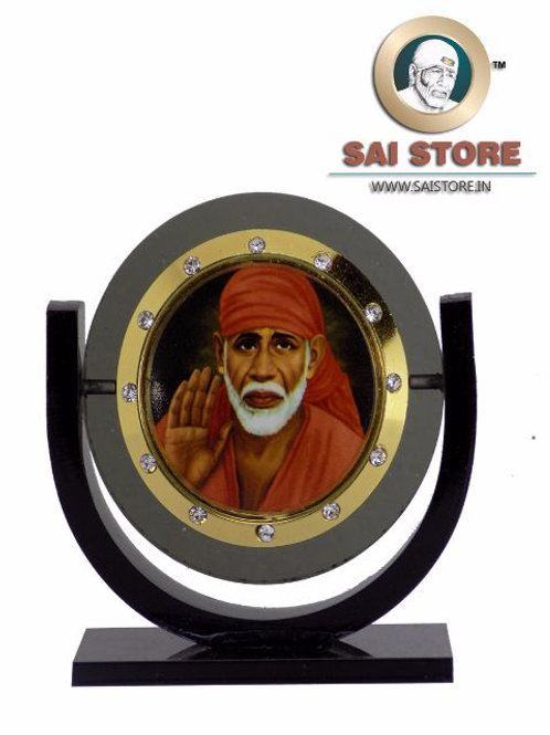 Sai Baba Acrylic Stand - Ashirwad