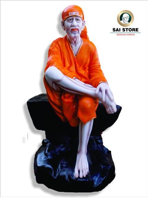 Sai Baba Statue 26'' Black Stone  No. 7
