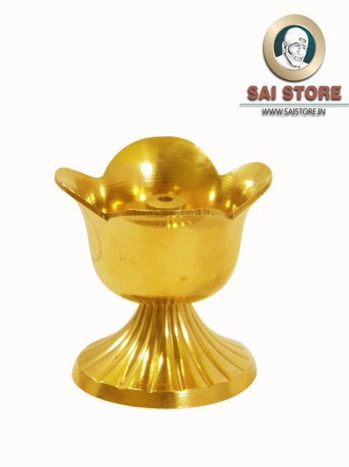 Designer Brass Oil Lamp Diya