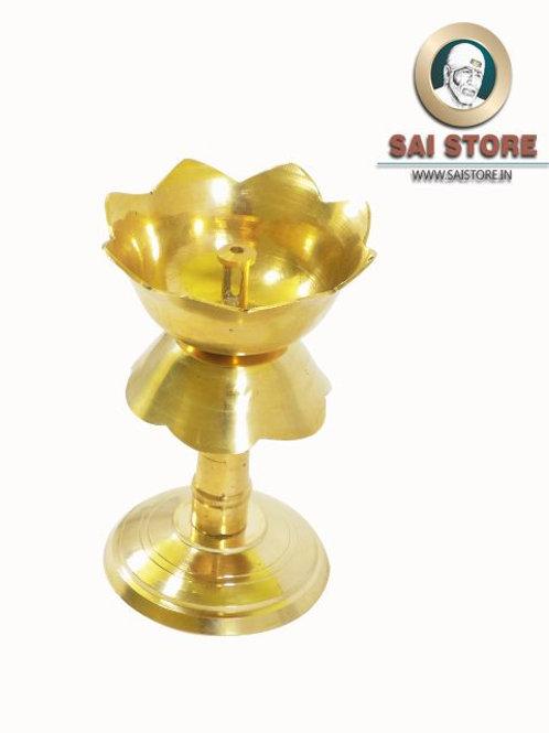 Akhand Jyoti Brass Oil Lamp Diya